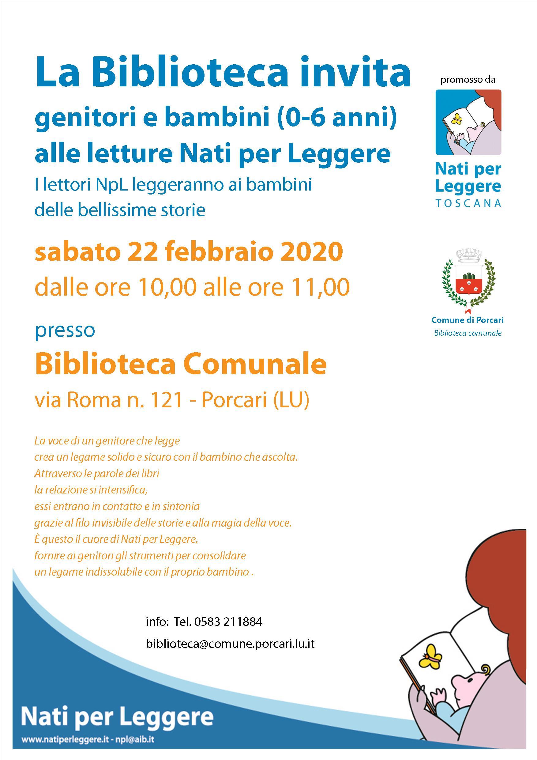 Locandina NpL Biblioteca 22 febbraio 2020 (2)